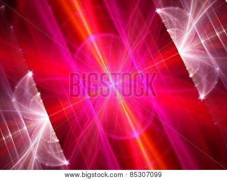 Colorful Multidimensional Energy Field