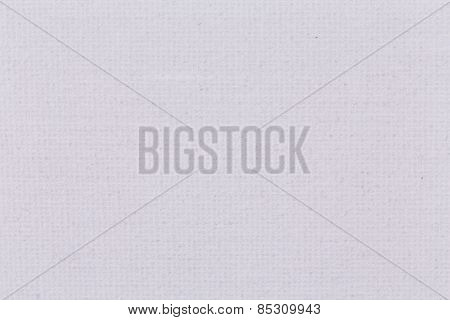 Background From White Coarse Canvas Texture