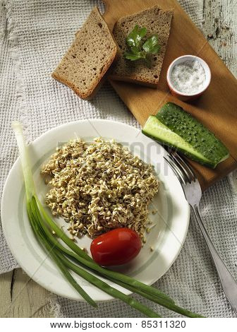 Buckwheat Sprout Dish