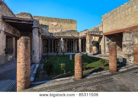 Herculaneum, Naples Italy
