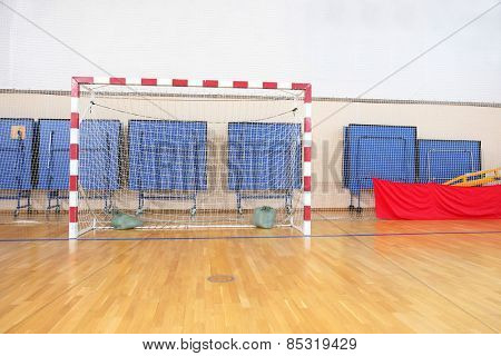 Stadium hall handball