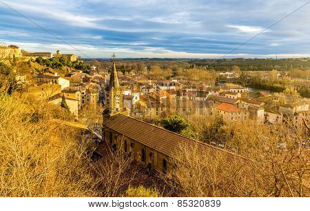 Saint Jude Church In Beziers - France