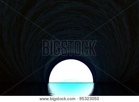 Underground Sewage Tunnel