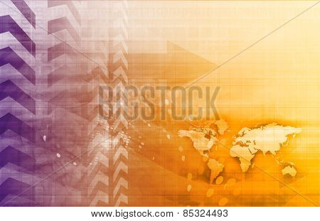 Business Technology Abstract Background as a Art