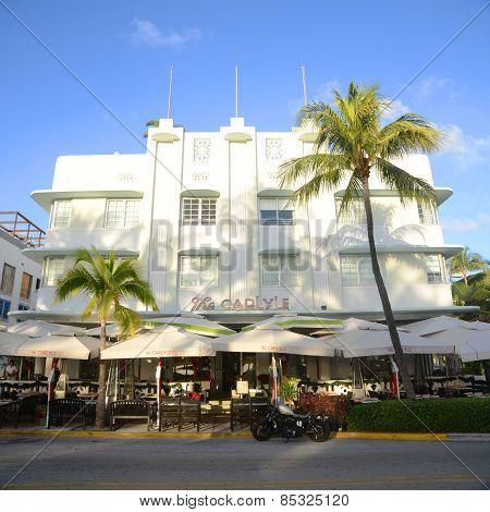 Art Deco Style Carlyle in Miami Beach