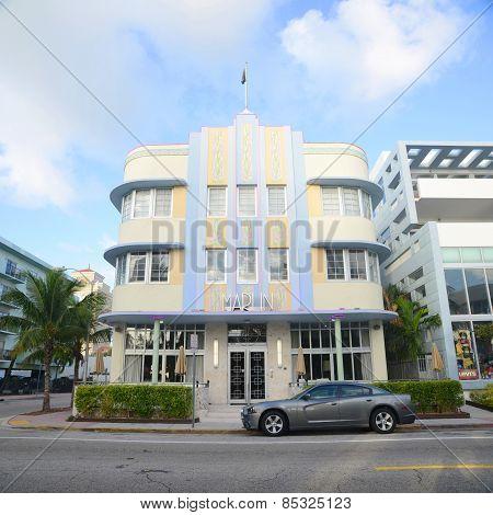 Art Deco Style Marlin in Miami Beach