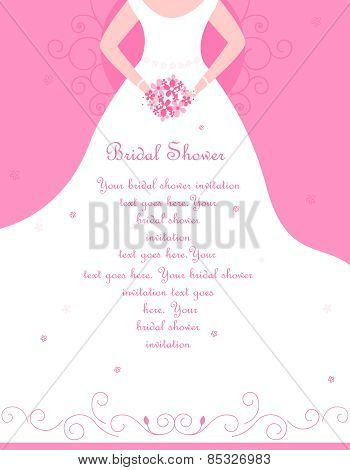 Wedding / Bridal Shower Invitation