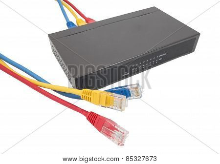 Network Cables And Router