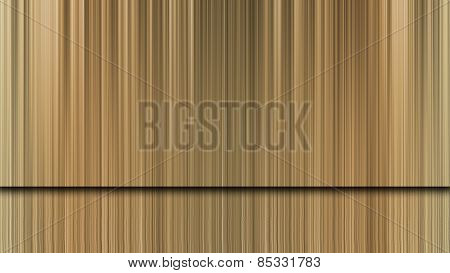 The Gold Background And Reflection Of Stage Backdrop.