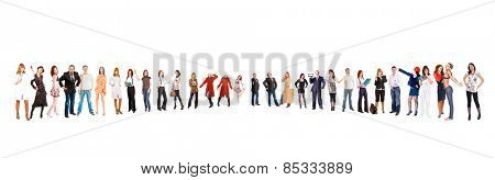 Big Group Workforce Concept