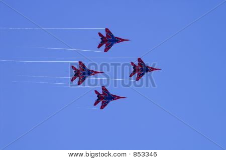 Strizhi (The Swifts) aerobatic team