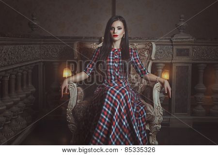 Girl In A Chair.