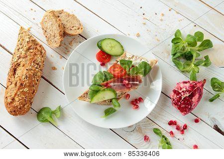 Crunchy sandwich