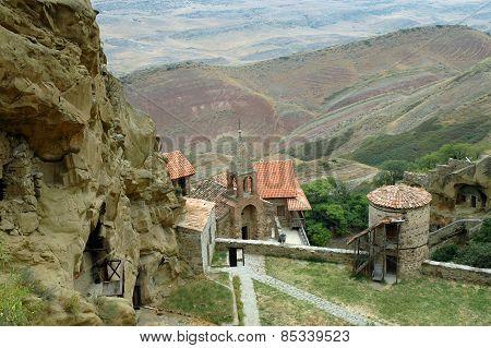 David Gareja Cave Monastery Complex. Kakheti. Georgia.