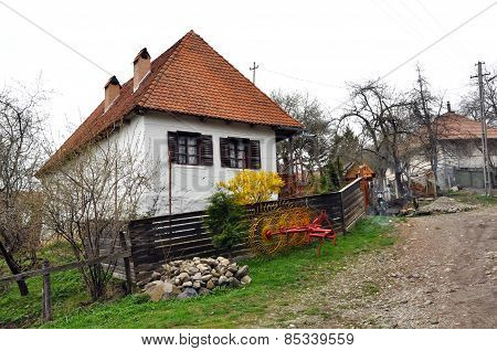 Rural House In A Transylvanian Village