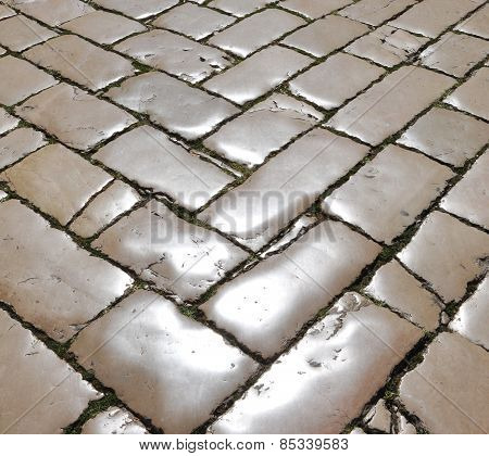 Polished Street Cobblestones