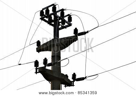 Concrete Electricity Pole