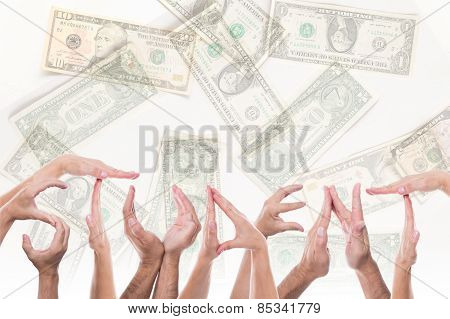 Word Student In Front Of Dollars