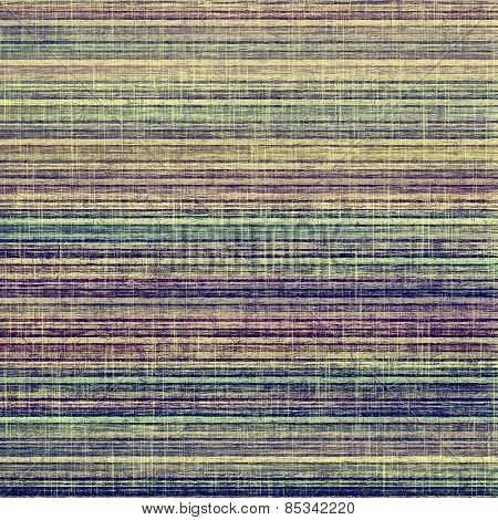 Grunge texture, distressed background. With different color patterns: yellow (beige); brown; purple (violet); green