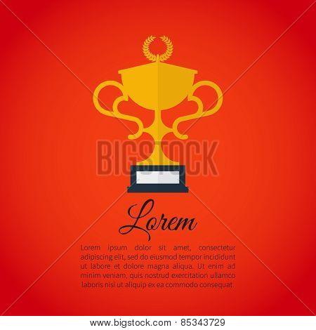 Winner award cup