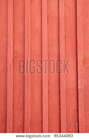 Red wooden board wall background