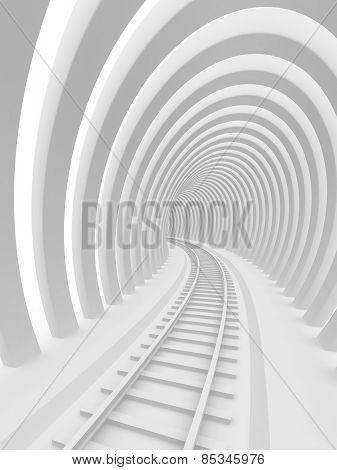 Abstract railroad