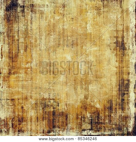 Old antique texture - perfect background with space for your text or image. With different color patterns: yellow (beige); brown; gray
