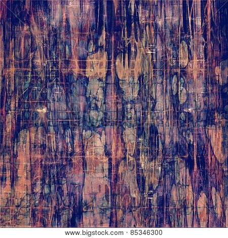 Grunge background with space for text or image. With different color patterns: yellow (beige); brown; blue; purple (violet)