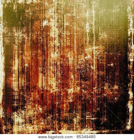 Old antique texture (for background). With different color patterns: yellow (beige); brown; black; green