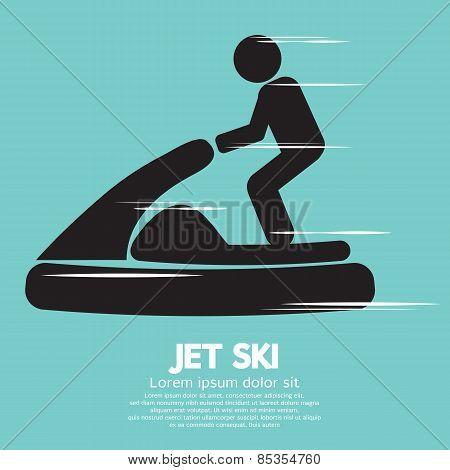 Jet Ski Sport Sign.