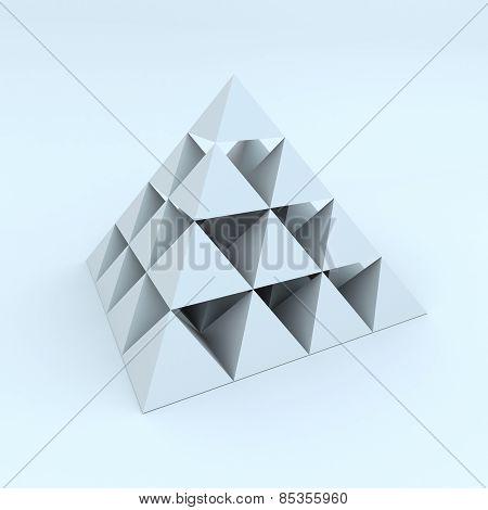 Abstract Piramid