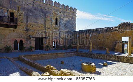 Alcazar Keep patio of Cisterns. Carmona