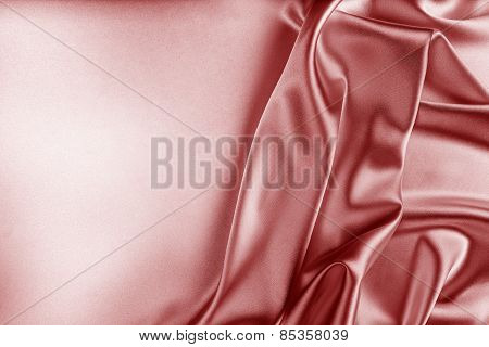 Red Silk Fabric Texture