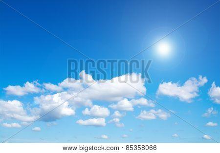 Flare On Sky