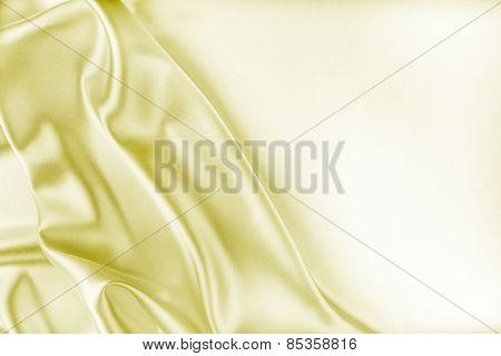 Golden Silk Fabric Texture