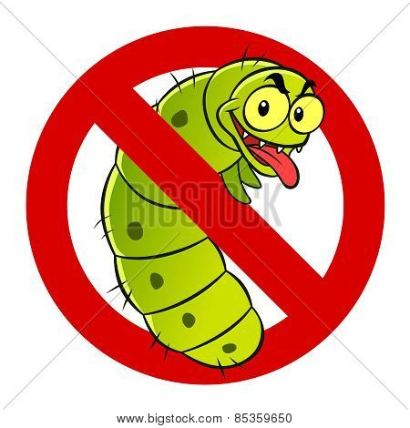 Anti Caterpillar Sign