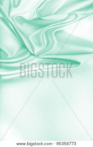 Green Silk Fabric Texture