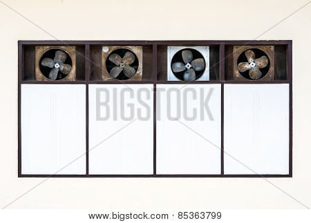 Old Ventilation Fan