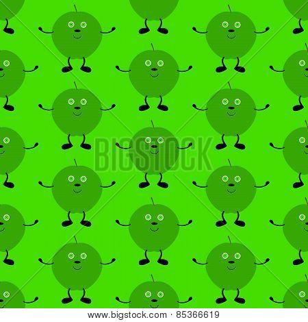 Funny Apple Pattern