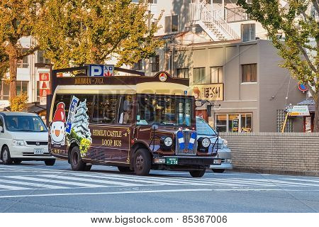 Loop Bus in Himeji