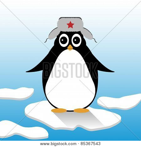 Penguin In A Hat