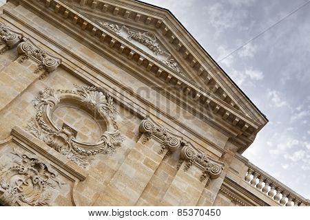 Facade In Bordeaux