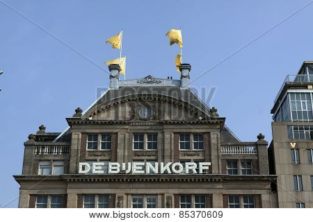 Beehive Departmentstore In Amsterdam