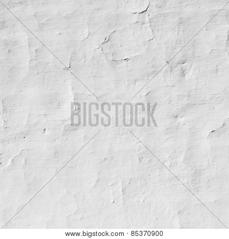 White wall background with small cracks