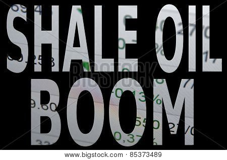 Shale oil boom