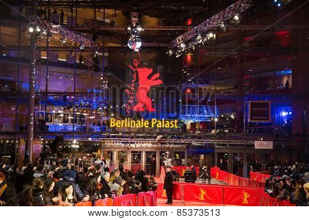 BERLIN, GERMANY - FEBRUARY 05: Opening Ceremony of the 65th Berlinale International Film Festival at Berlinale Palace on February 5, 2015 in Berlin, Germany