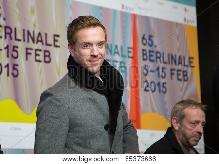 BERLIN, GERMANY - FEBRUARY 06: Actor Damian Lewis, press conference during the 65th Film Festival at Hyatt Hotel February 6, 2015 in Berlin, Germany.