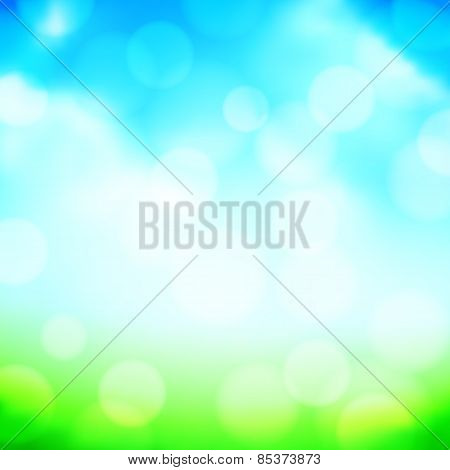 Blured Spring Background