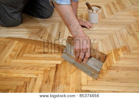 Home Renovation, Parquet Finishing