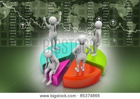 Team work business concept